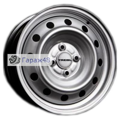 Trebl X40915 R15 / 6J PCD 4x100 ET 40 ЦО 60.1 Штампованные Серебристый